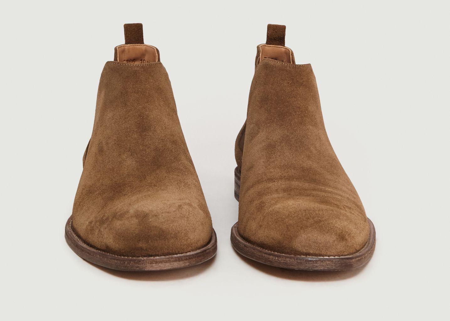 Chelsea Boots En Daim - Anthology Paris