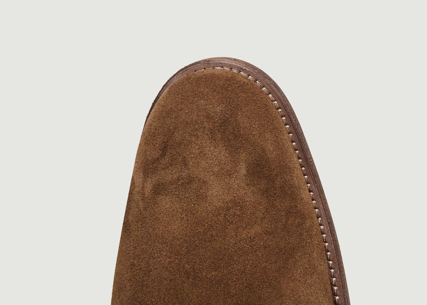 f48b35fcd08180 Chelsea Boots En Daim Tabac Anthology Paris   L'Exception