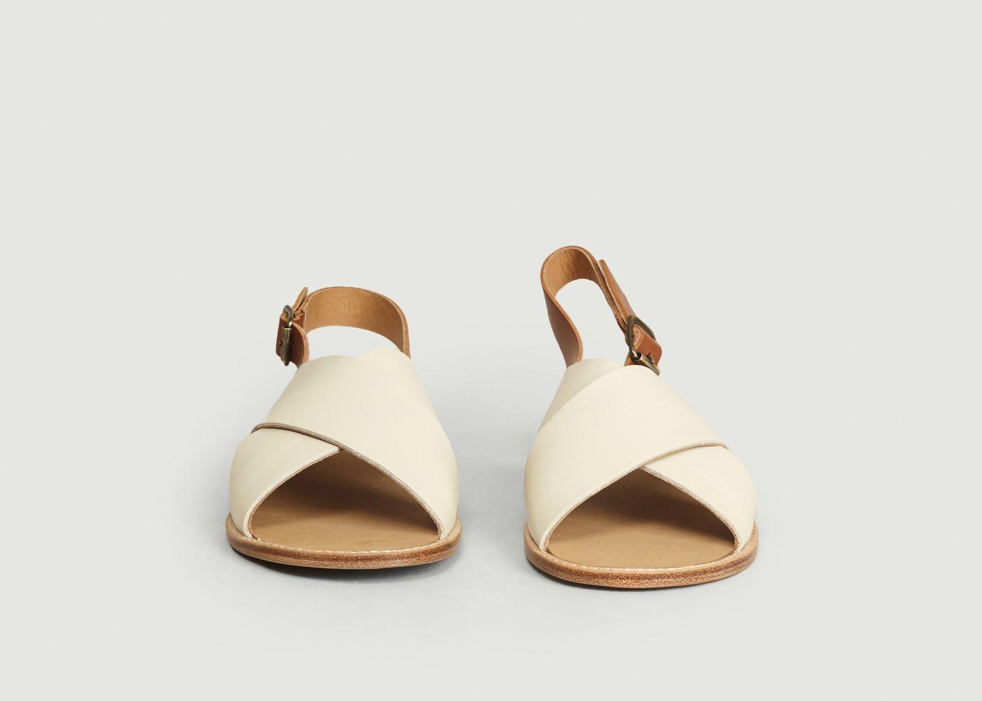 Sandales Birmanie Bicolore - Anthology Paris