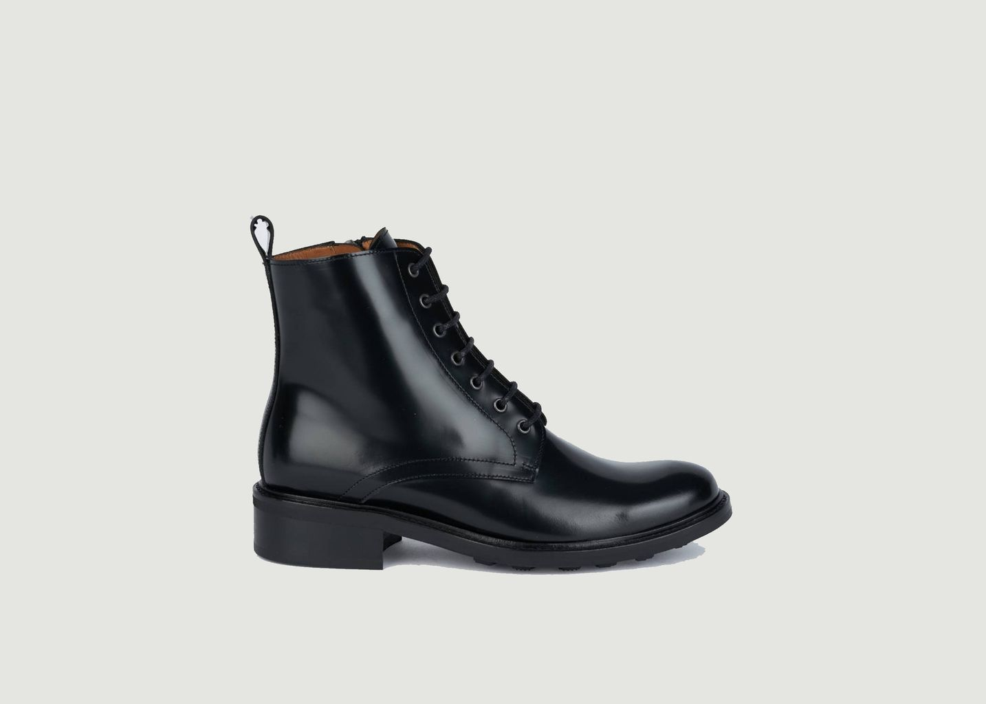 Bottines en cuir polido à lacets 7426 - Anthology Paris