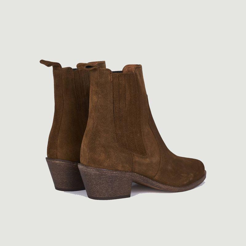 Boots en daim Sofia - Anthology Paris