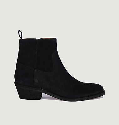 Winona suede leather boots