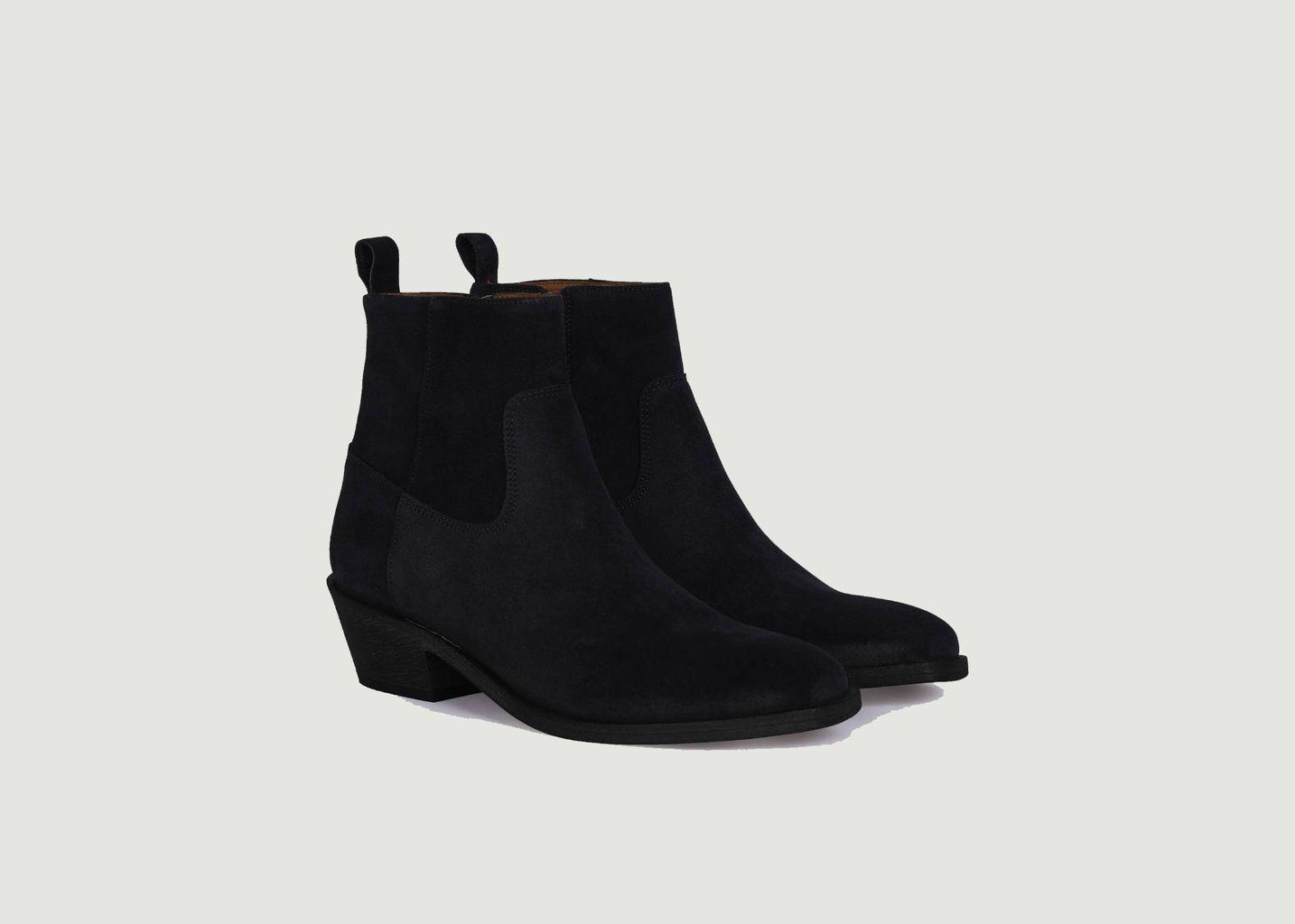 Boots en daim Winona - Anthology Paris
