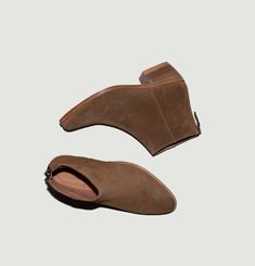 Boots en daim Telma