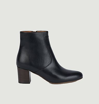 Bottines en cuir Michelle