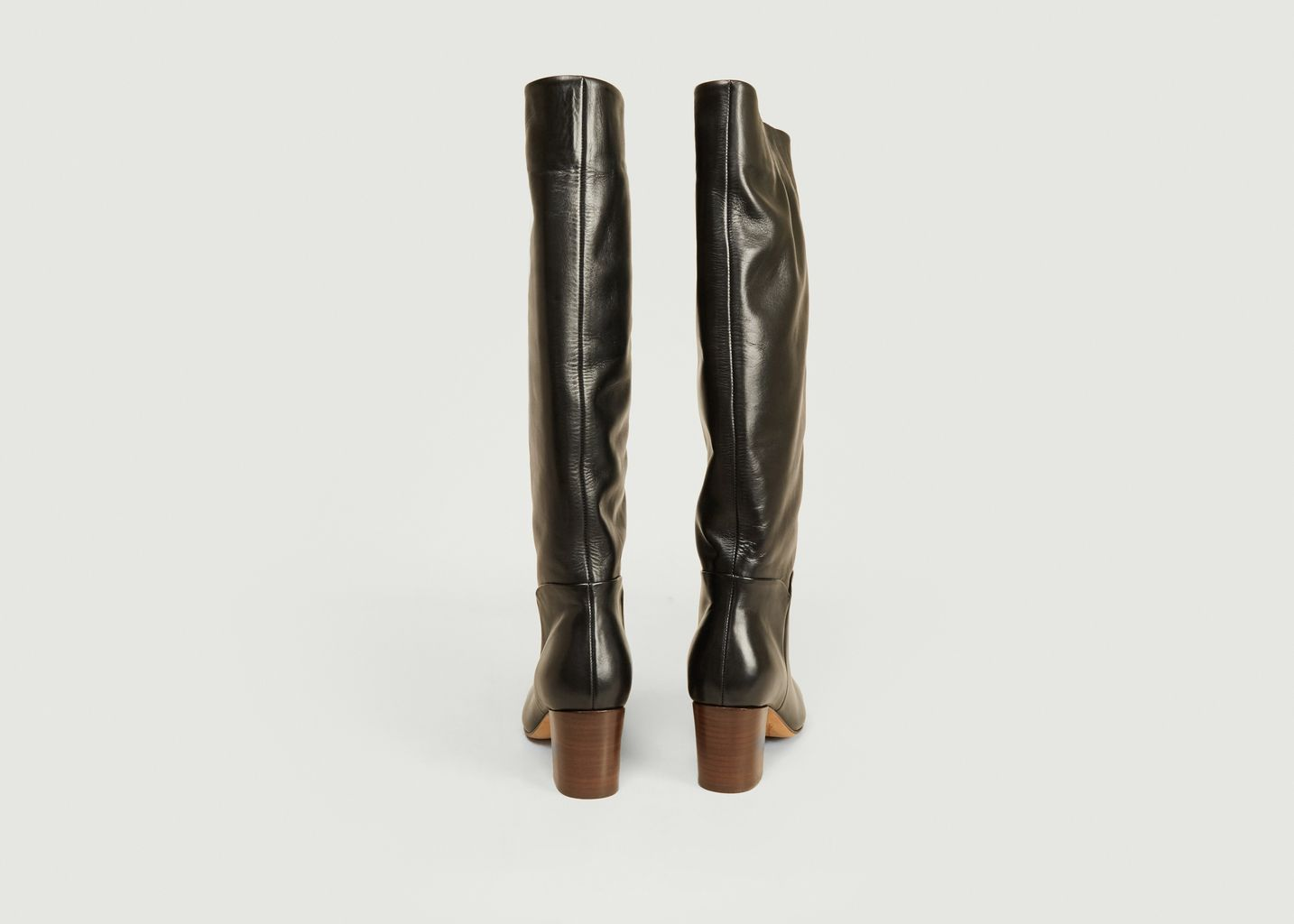 Bottes en cuir Malou Brittania - Anthology Paris