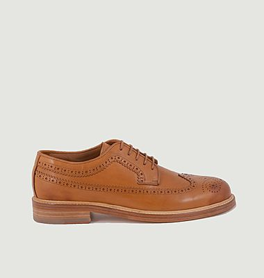 Derbies brogues en cuir 7372