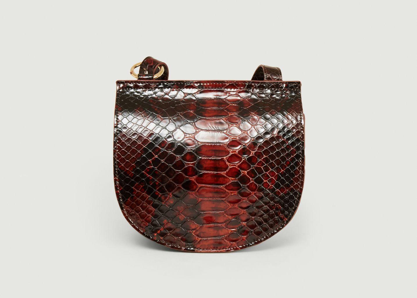 Sac en cuir effet python Paris Zaire - Anthology Paris