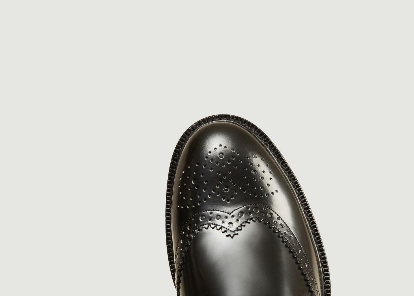Boots brogues en cuir polido 7484 - Anthology Paris