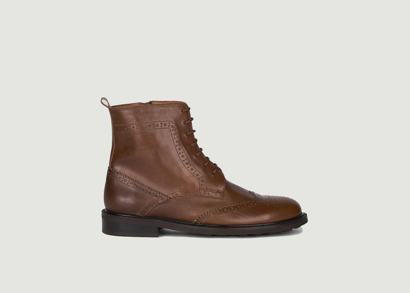 Boots brogues en cuir 7484 - Anthology Paris
