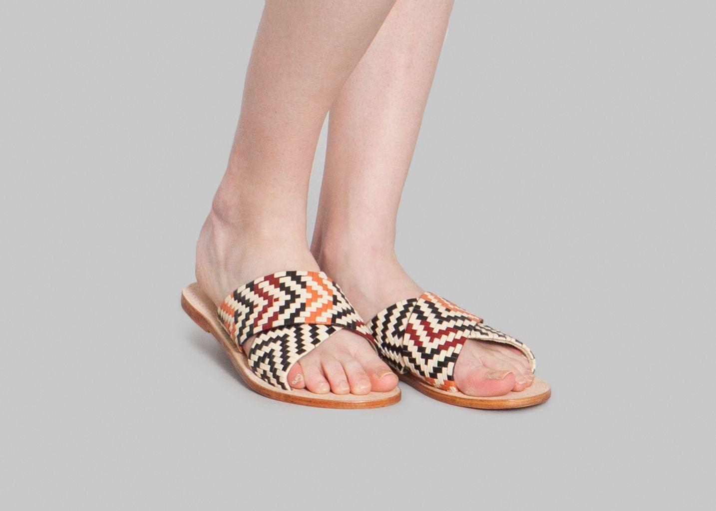 Sandals L'exception Antik Brown Batik Balko XwqH6xfznz