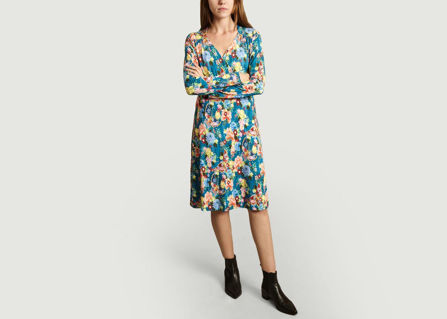 Robe Fleurie Nippon Multicolore Antoine et Lili | L'Exception