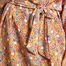 matière Robe Fleurie Manches 3/4 Japonica - Antoine et Lili