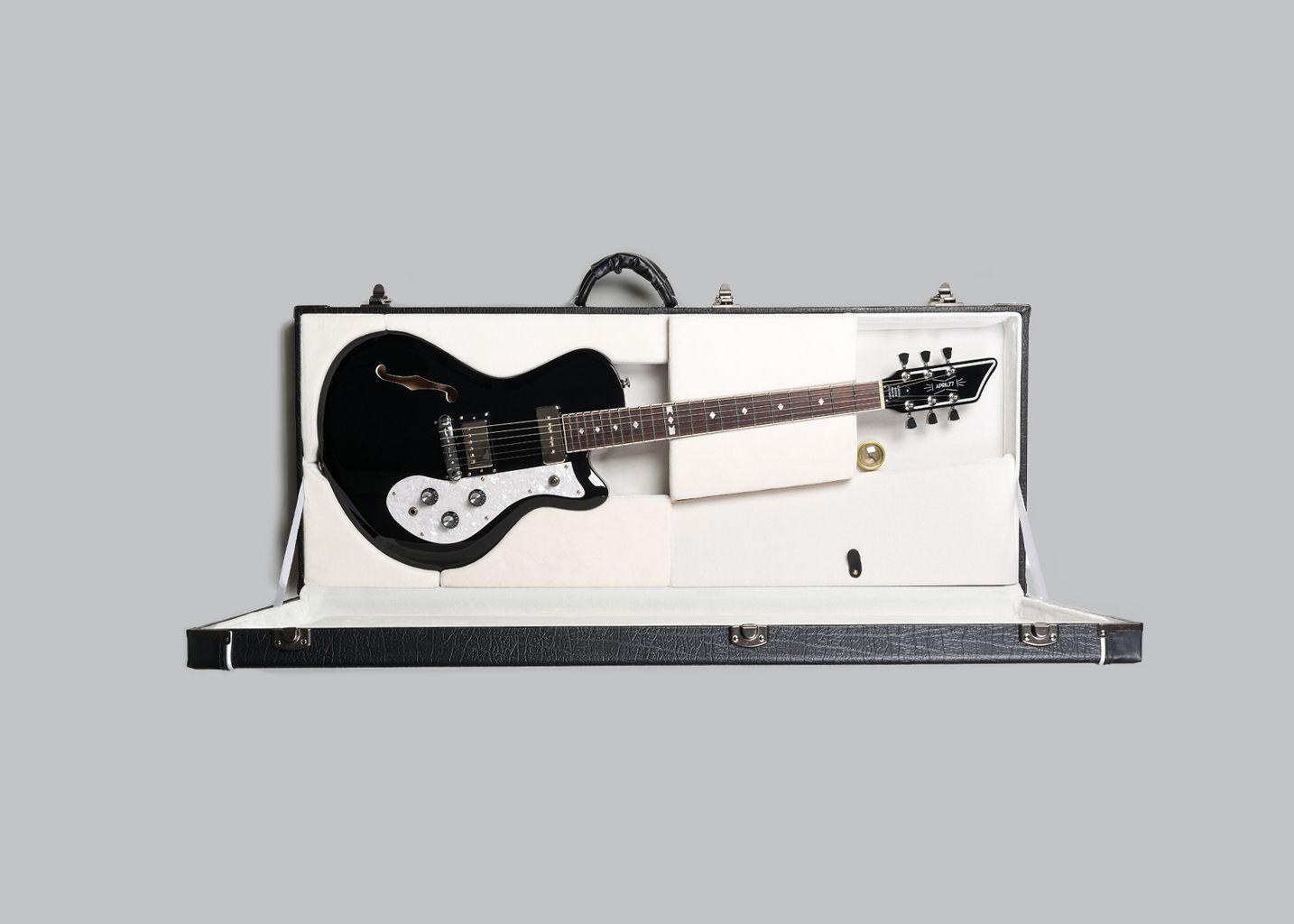 Eléctrique Guitare Noir April 77 L'exception drdwpqv5