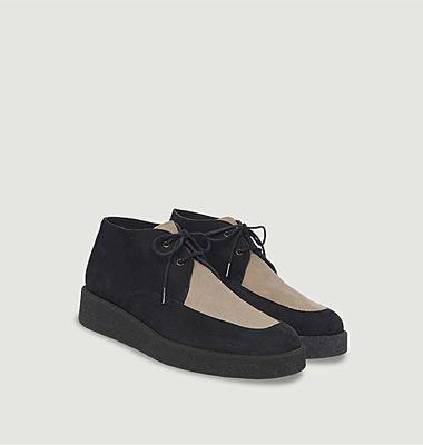 Desert boots en cuir Comano