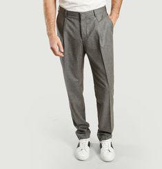 Pantalon Paul Laine Vierge Gris