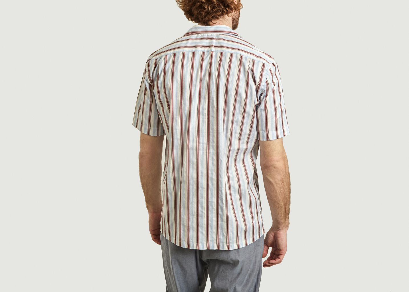 Chemise Rayée Manches Courtes Tom - Archive 18-20