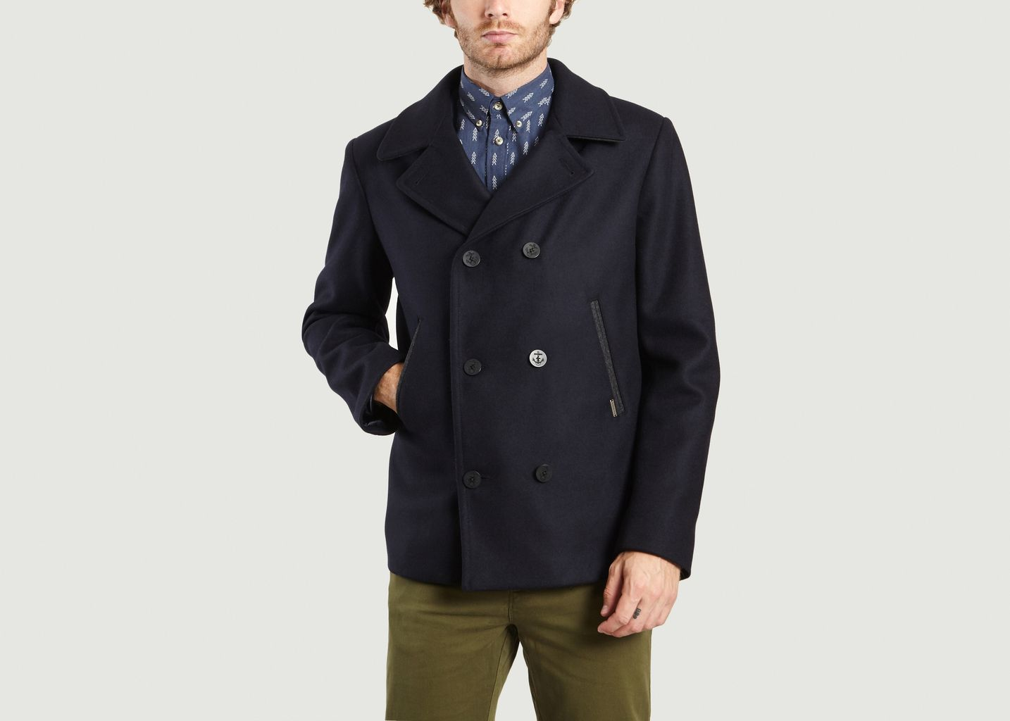 hot products fashion style offer discounts Wool Pea Coat