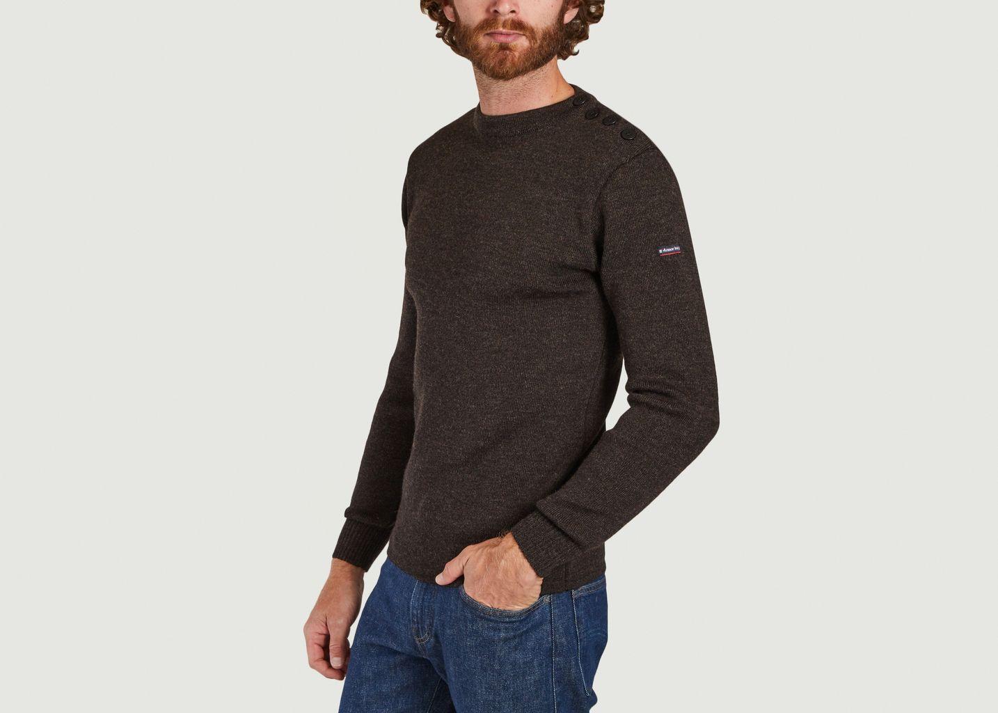 Pull marin en laine Fouesnant - Armor Lux