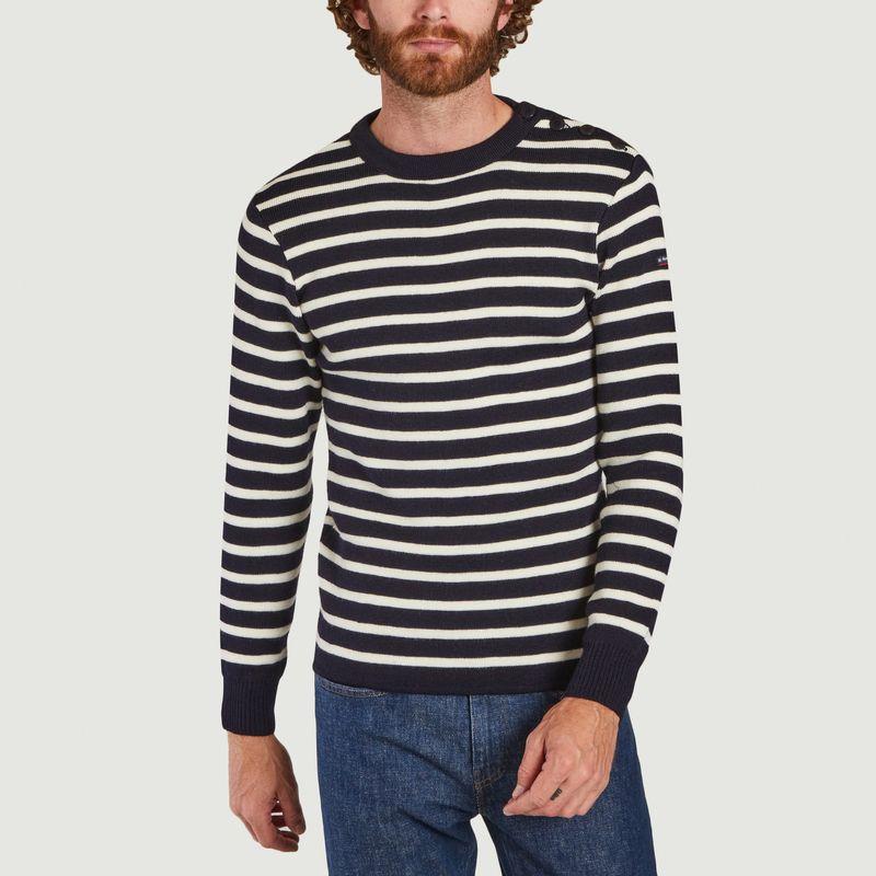 Pull marinière en laine Fouesnant - Armor Lux