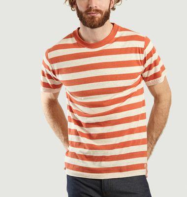 T-Shirt Héritage Imprimé Rayures