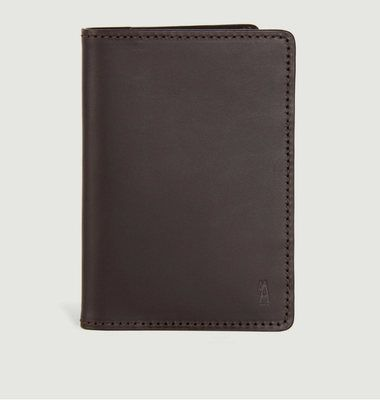 Porte Passeport Wagram Chocolat