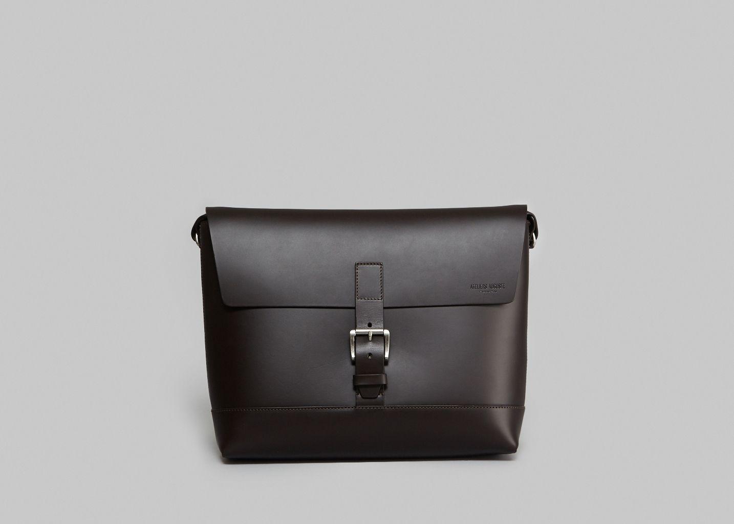 Valmy Leather Satchel - Ateliers Auguste