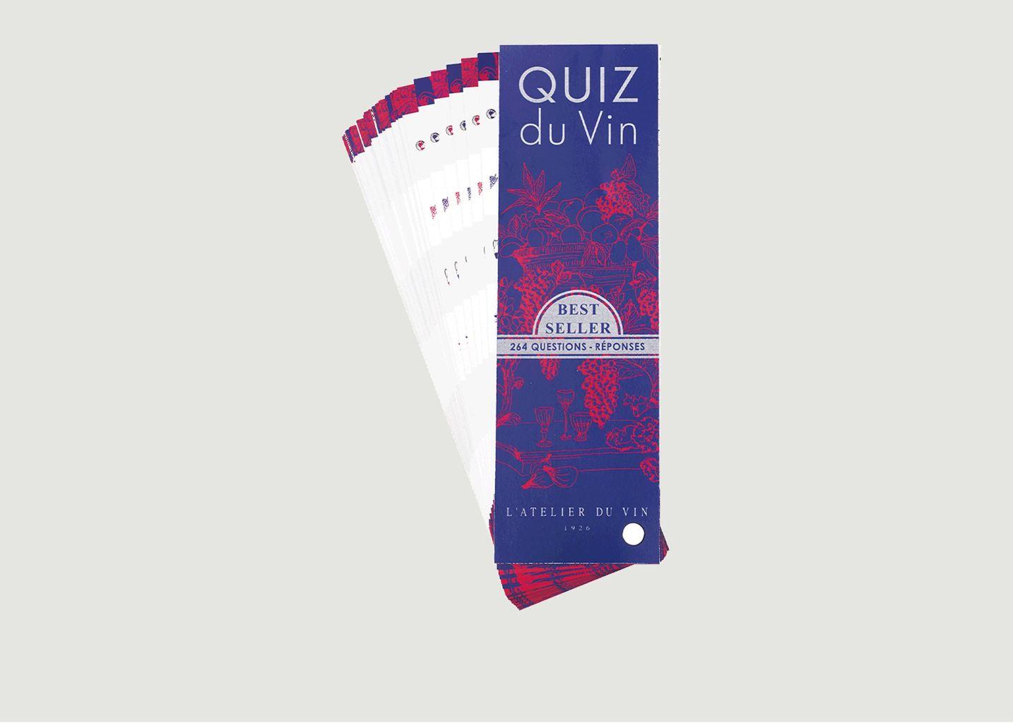 Quiz du Vin - Atelier Du Vin