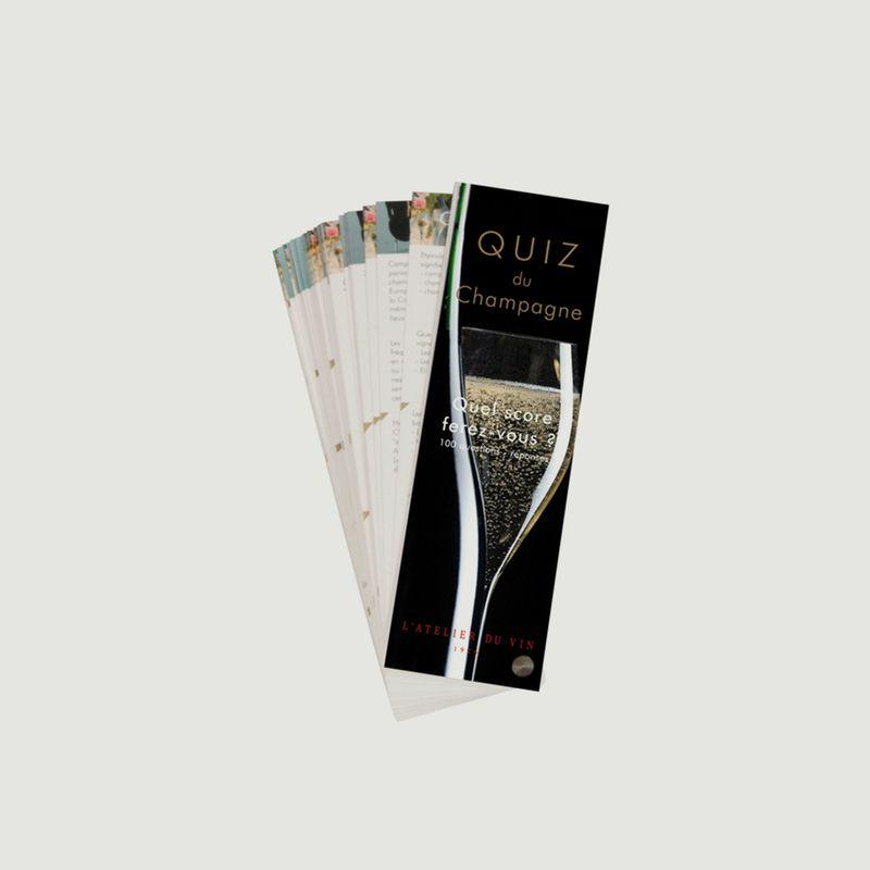Quiz du Champagne - Atelier Du Vin
