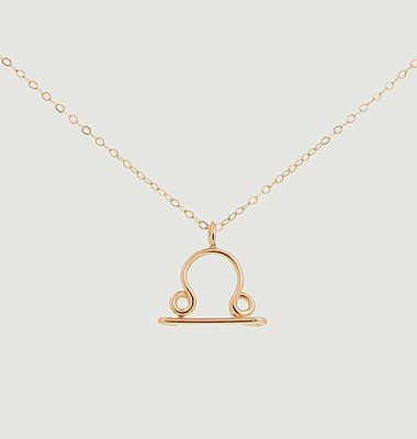 Collier chaîne avec pendentif Astro Balance