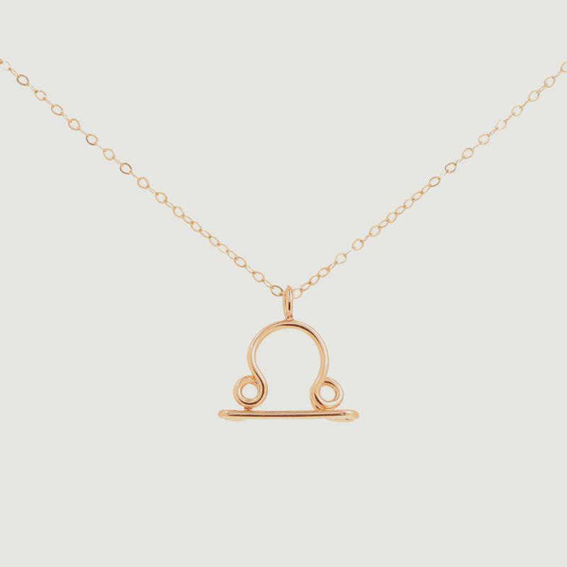 Collier chaîne avec pendentif Astro Balance - Atelier Paulin