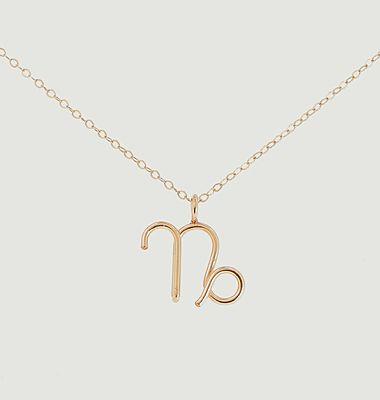 Collier chaîne avec pendentif Astro Capricorne
