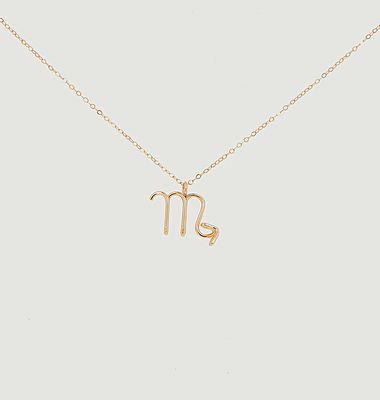 Collier chaîne avec pendentif Astro Scorpion