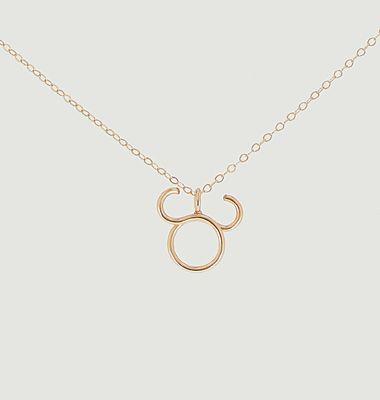 Collier chaîne avec pendentif Astro Taureau