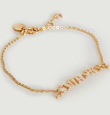 Bracelet gold filled Original Richelieu Amour