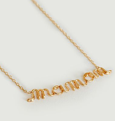 Collier gold filled Original Richelieu Maman