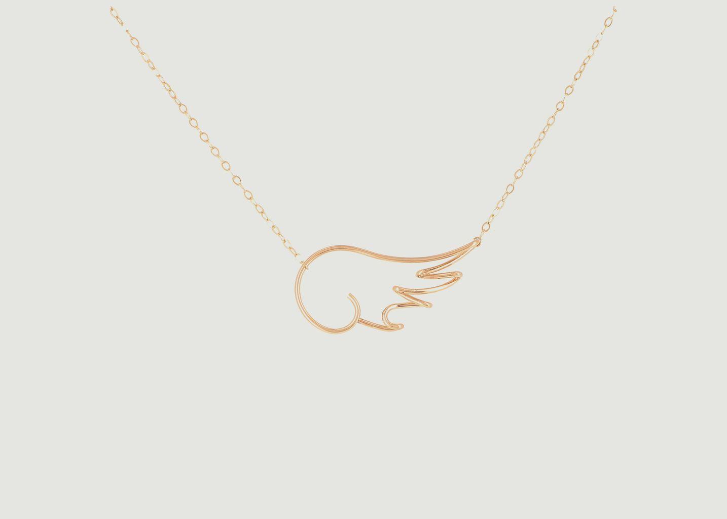 Collier chaîne avec pendentif Mon Ange x Jean Cocteau - Atelier Paulin
