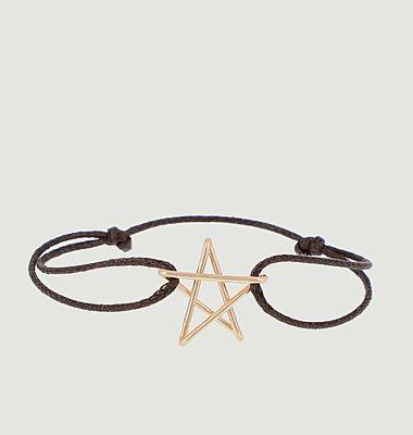 Bracelet cordon étoile Big 5 x Jean Cocteau