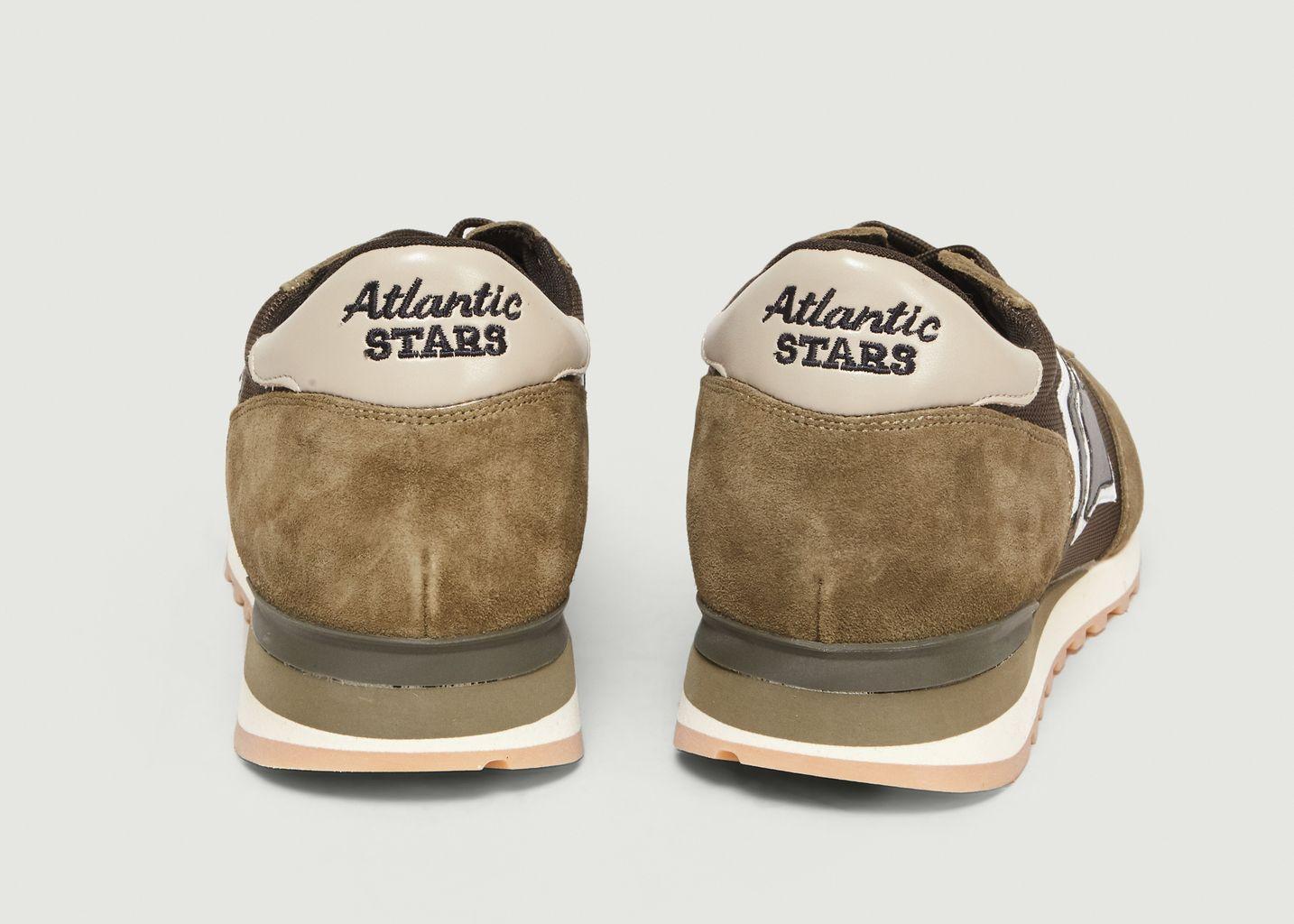 Sneakers En Cuir Suédé Et Tissu Argo - Atlantic Stars
