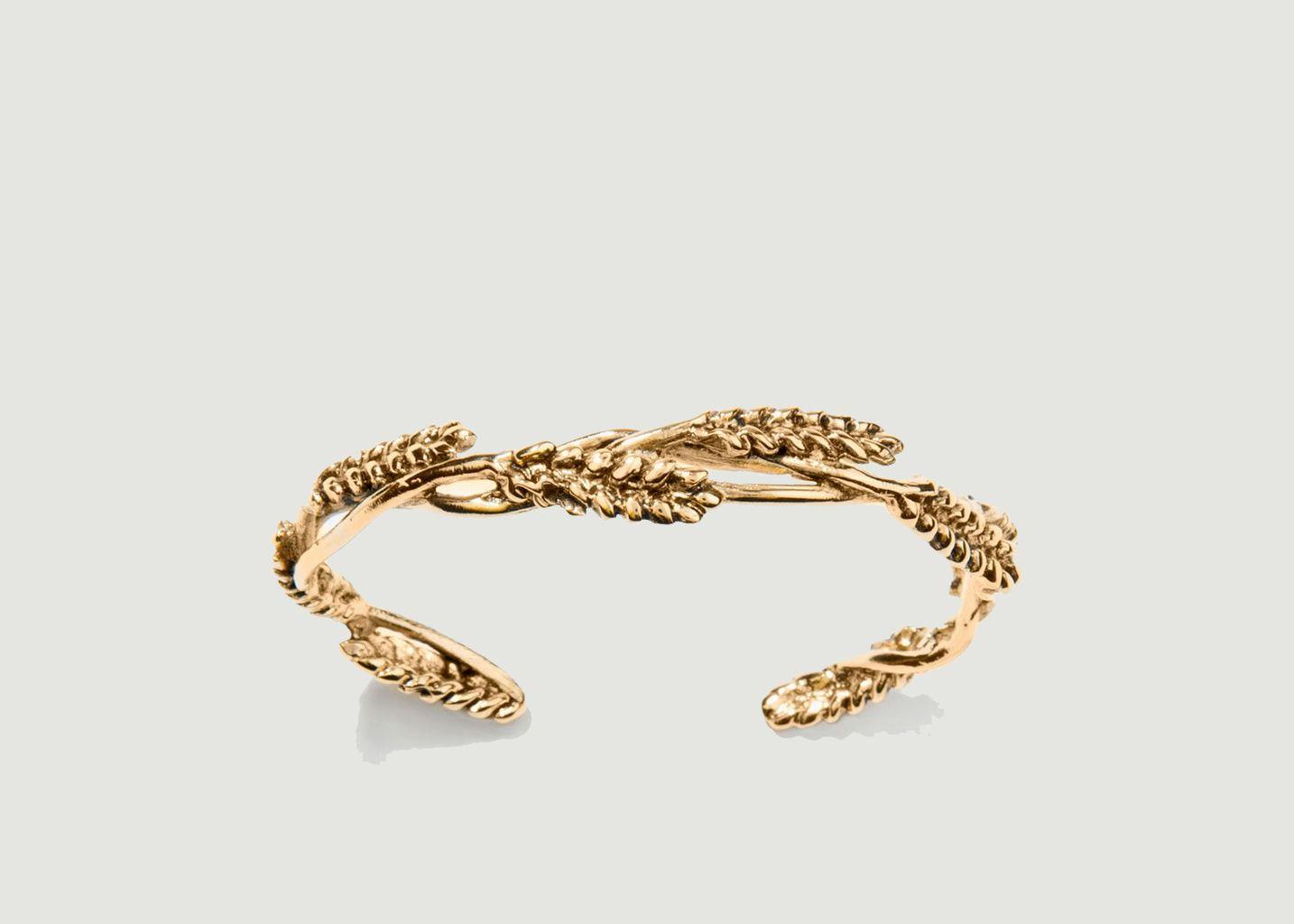 Bracelet jonc plaqué or Blé - Aurélie Bidermann
