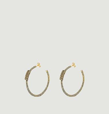 Boucles d'oreilles Gerlinda