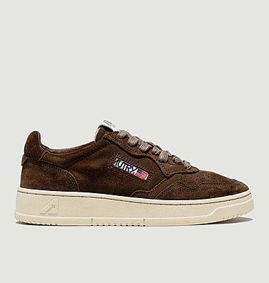Sneakers Autry  01 Low Man Suede Marron