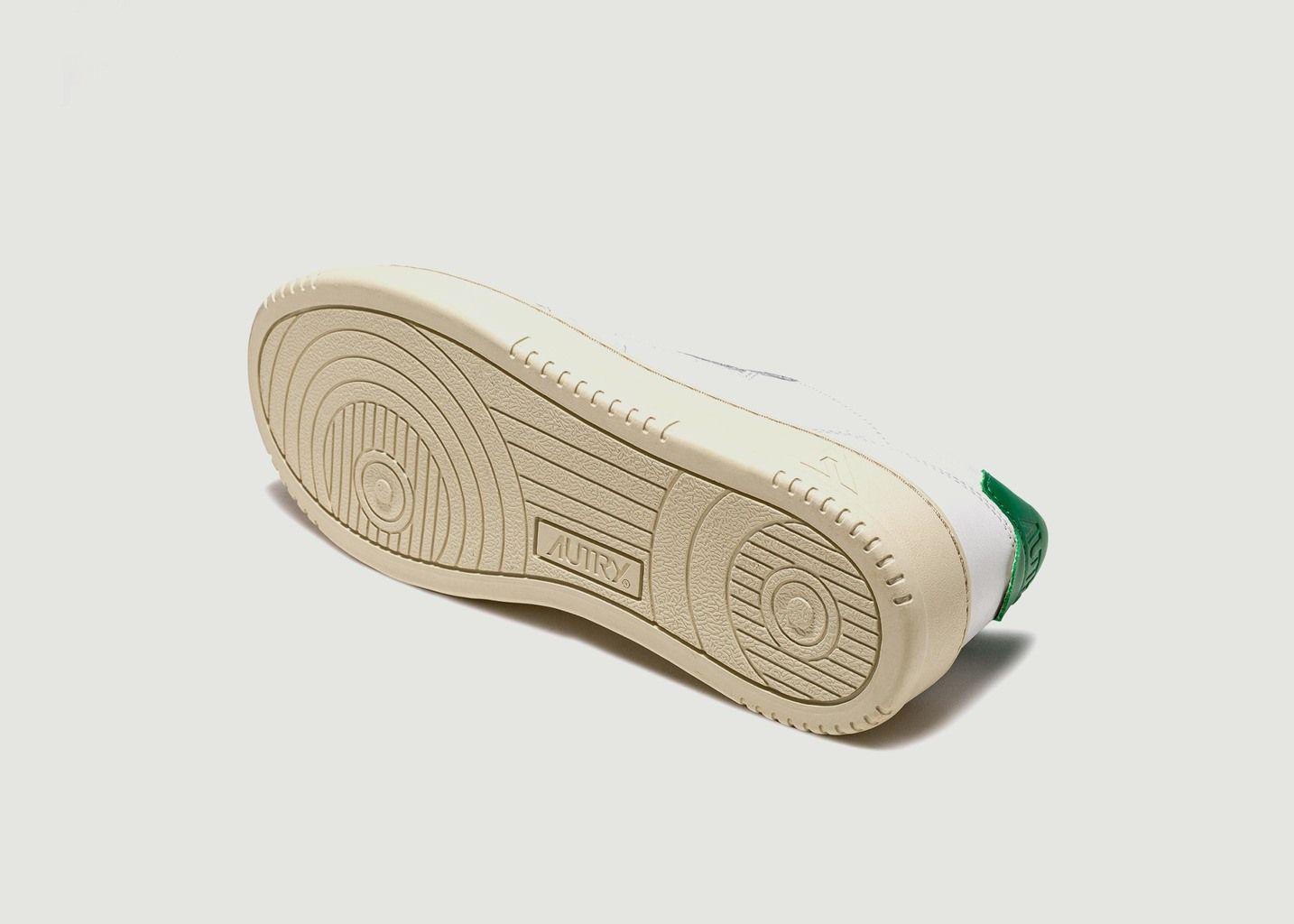 Sneakers Medalist Low en Cuir Blanc  - AUTRY