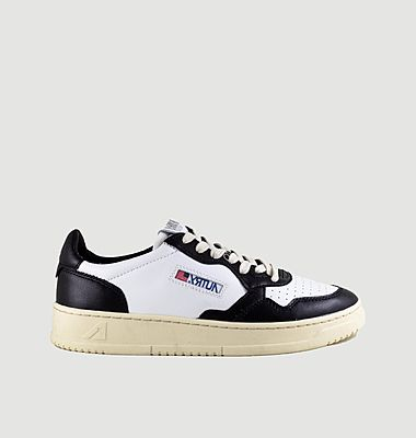 Sneakers bicolores en cuir 01 Low