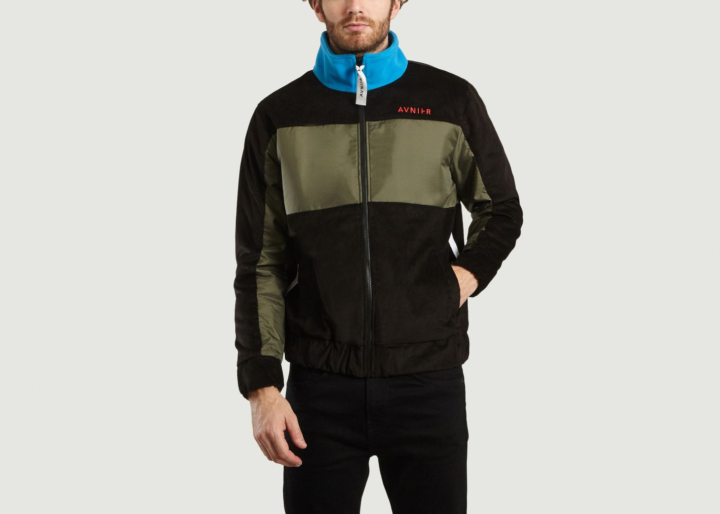353947f39 Assemblage Zip Jacket Black AVNIER   L'Exception
