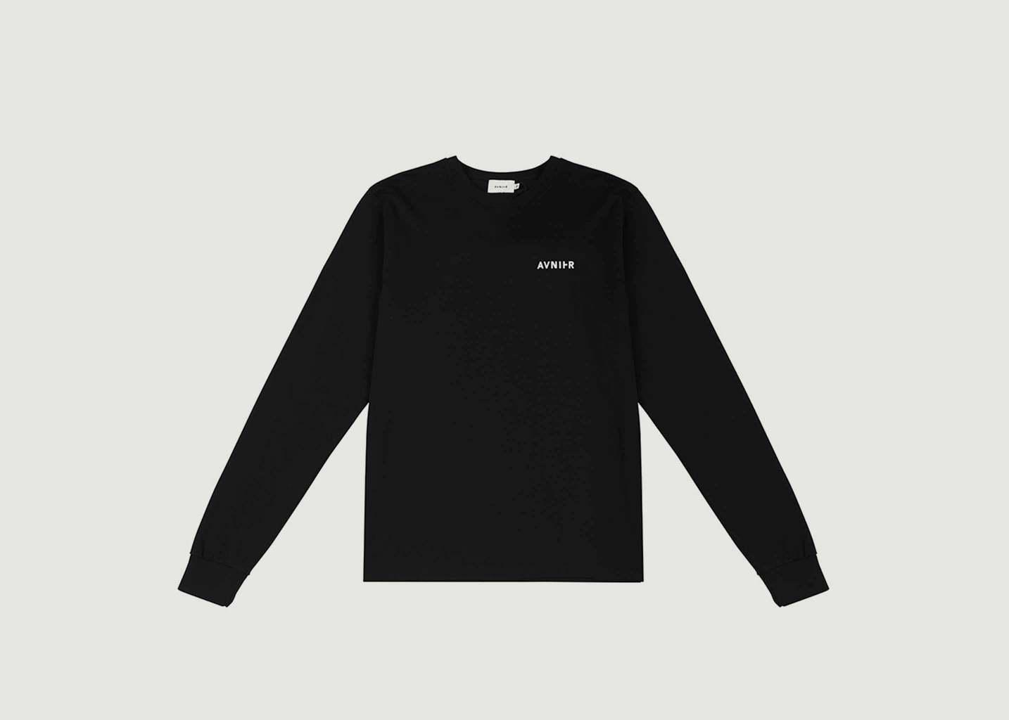 T-Shirt Manches Longues Logotypé - AVNIER