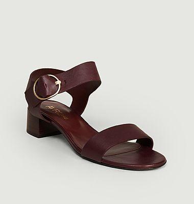 Sandales en cuir Gazette