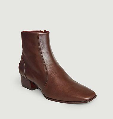 Boots en cuir Crous