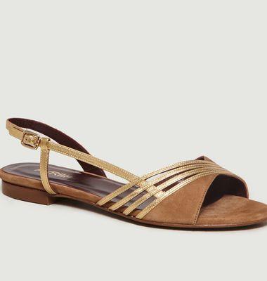 Sandales Platine
