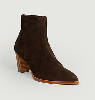 Ecope suede leather boots